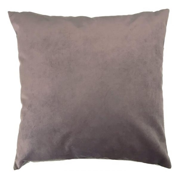 Zandra Velvet Euro Cushion, Thistle