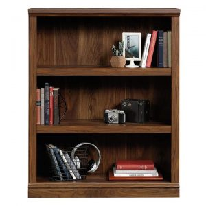 3-Shelf Bookcase Grand Walnut