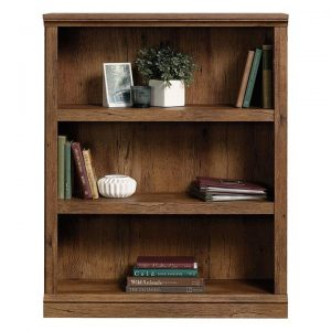 3-Shelf Bookcase Vintage Oak