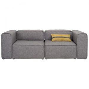 Acura Fabric Sofa, 2 Seater, Pebble