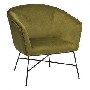 Maybn Velvet Armchair