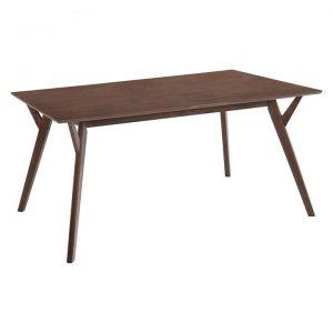 Migo Timber Dining Table, Walnut
