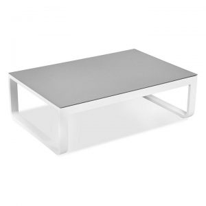 Padma Outdoor Glass Top Coffee Table