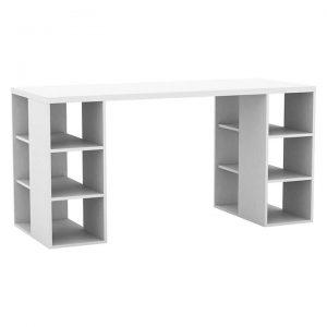 Savana Office Desk, White