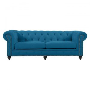 Chesterfield Velvet 3 Seater Sofa