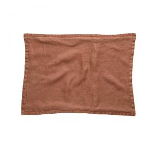 *Covers only* Belgian Vintage Washed Linen Cushion Covers 40x60cm Desert Sand - Desertsand