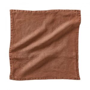 *Covers only* Belgian Vintage Washed Linen Cushion Covers 50x50cm Desert Sand - Desertsand