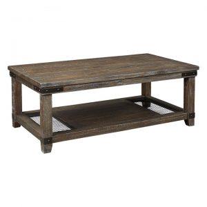 Adair Farmhouse Wooden Coffee Table