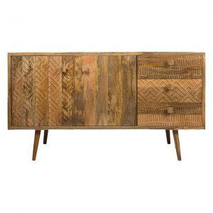 Ashanti Carved Sideboard