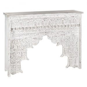 Basanti Timber Console Table With Drawers