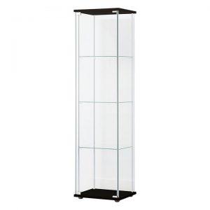Brock Glass 4 Tier Display Cabinet
