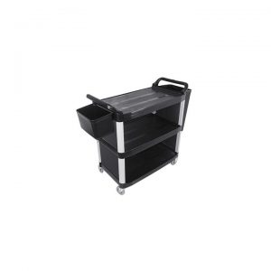 3 Tier Food Trolley with Bins