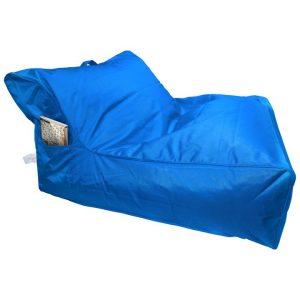 Calayan Fabric Indoor / Outdoor Bean Bag Cover, Blue
