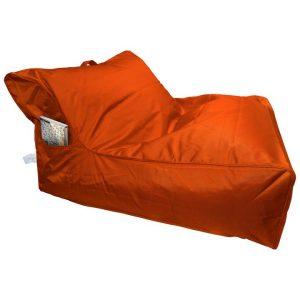Calayan Fabric Indoor / Outdoor Bean Bag Cover, Orange