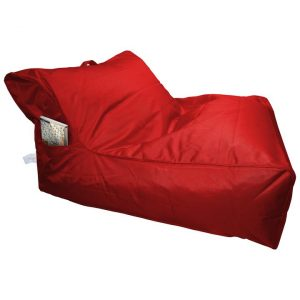 Calayan Fabric Indoor / Outdoor Bean Bag Cover, Red