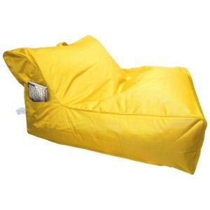 Calayan Fabric Indoor / Outdoor Bean Bag Cover, Yellow