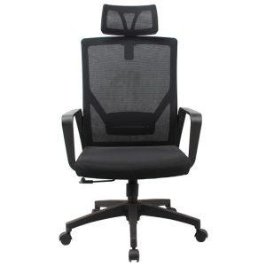 Abios II Mesh Fabric Ergonomic Office Chair, with Headrest