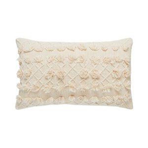 Adairs Arden Cushion 35x55cm Natural