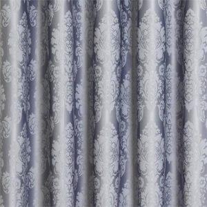Damask Blockout Pinch Pleat Curtains