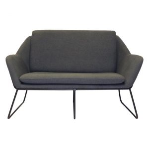 2 Seater Lounge Sofa Fabric Assorted Rapidline