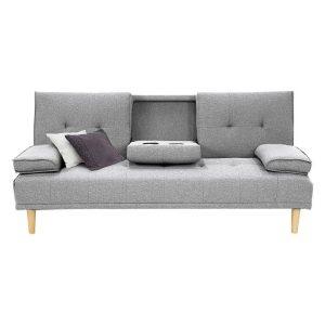 Aaren Linen Sofa Bed Assorted Unique Home