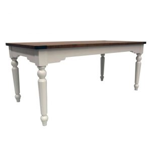 Anjou Rectangle Dining Table Wood Natural Homeflex