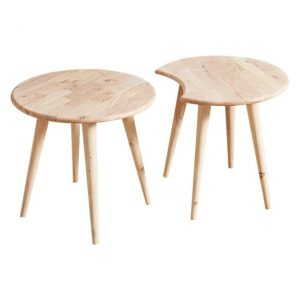 Ant Coffee Table Solid Wood Natural Natural Signature
