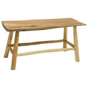 Asam Teak Timber Dining Bench, 85cm