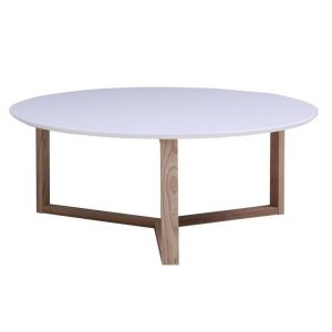 Aurora Oak Coffee Table Natural/White HOMESTAR