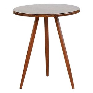Barna Indoor/Outdoor Dining Table MDF Brown Icon Studio