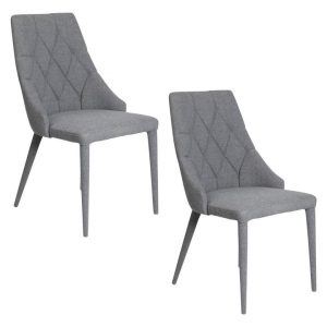 Bergamo Upholstered Dining Chair (Set of 2) Polyester Assorted Future Classics Furniture