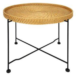 Borneo Rattan Coffee Table Natural/Black Breeze