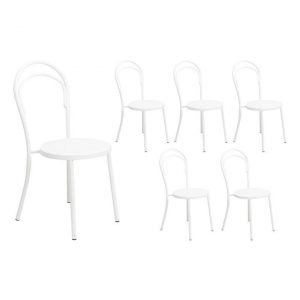Brentwood Dining Chair (Set of 6) Metal Assorted Beaumont & Braddock