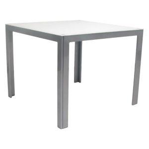 Dali Outdoor Side Table, Graphite Metal Hartman