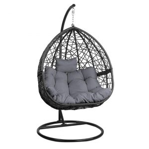 Fania Hanging Pod Chair Metal Assorted Frisse Outdoors