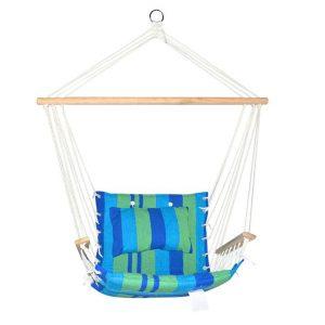Landros Hammock Chair Fabric Blue Frisse Outdoors