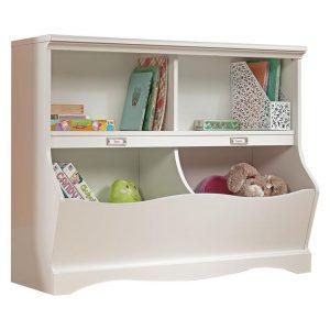 Pogo Kids' Bookcase Chipboard White U.S Designs