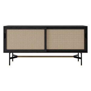 Soho Rattan & Oak Sideboard Assorted Life Interiors