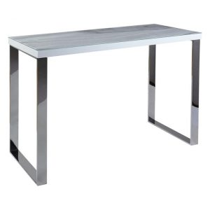 Thermin Marble Console Table White Bay Road Designs