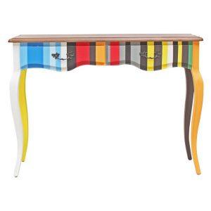 Tiffany Console Table Wood Hudson Furniture