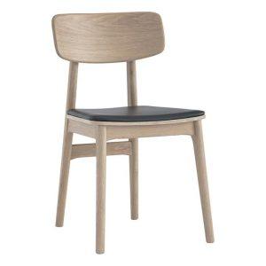 Tosa Dining Chair Wood Oak/Espresso Luooma x Zanui