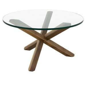 Twix Coffee Table, Walnut Wood Life Interiors