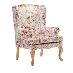 Adairs Kids Fleur Harris Furniture Collection Woodlands Pink Armchair