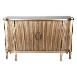 Arielle Sideboard, Gold MDF Antique Gold CAFE Lighting & Living