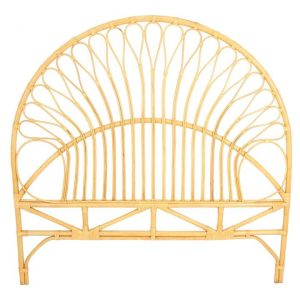 Camille Rattan Bed Head Natural Breeze