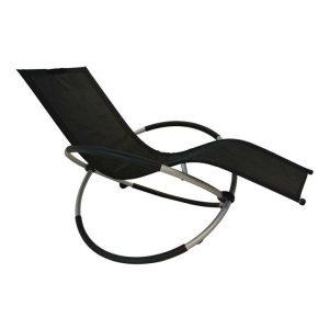Osmond Outdoor Zero Gravity Rocking Lounge Chair Synthetic Fibre Assorted Homeflex