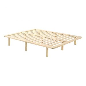 Paxton Wooden Bed Pine Natural Wood E-living