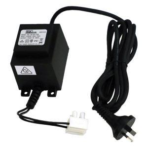 Weatherproof Outdoor Transformer Light Acrylic Black Oriel Lighting